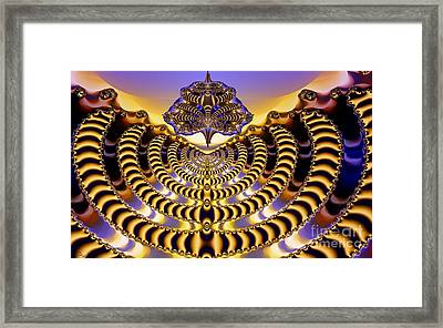 Exalted Framed Print by Ron Bissett