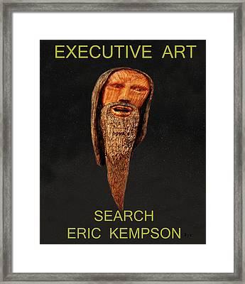 Executive Art Framed Print by Eric Kempson