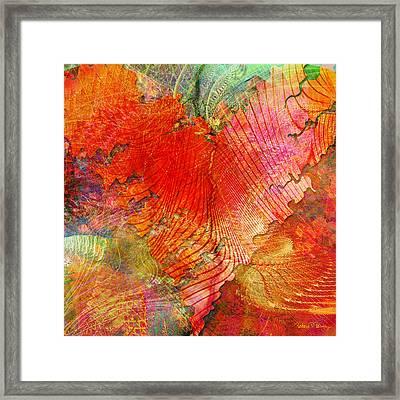 Exhilaration Framed Print by Barbara Berney