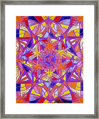 Exhilaration Framed Print by Teal Eye  Print Store