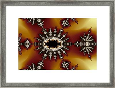 Exiled Cubic No. 3 Framed Print by Mark Eggleston