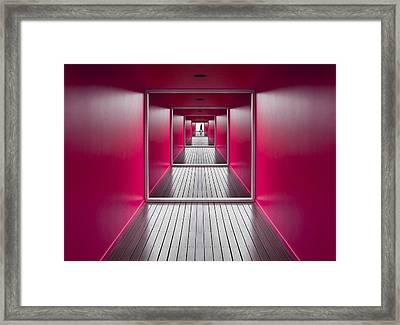 Exit Framed Print by Jacqueline Hammer