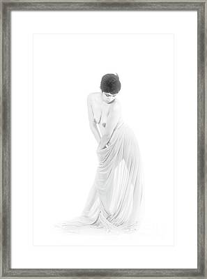 Exotic Nude Woman 1050 Framed Print by Kendree Miller