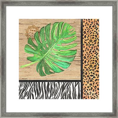 Exotic Palms 3 Framed Print by Debbie DeWitt