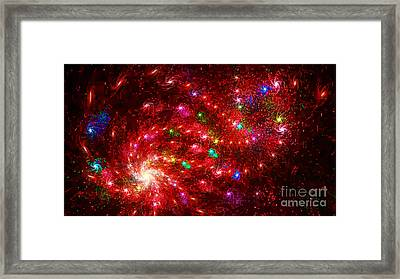 Experiment 4 Framed Print by Geraldine DeBoer