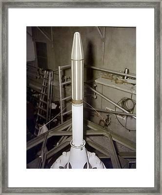 Explorer 1 Framed Print by Nasavrs