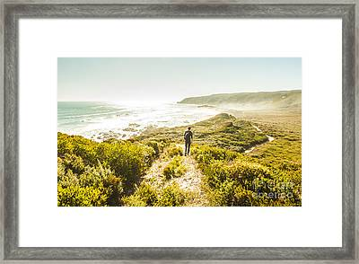 Exploring The West Coast Of Tasmania Framed Print by Jorgo Photography - Wall Art Gallery