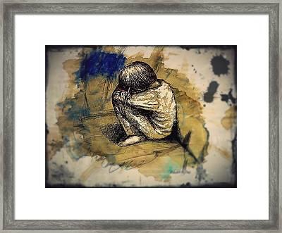 Express Myself Framed Print by Paulo Zerbato