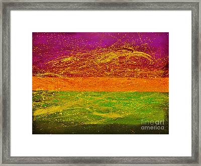 Express Yourself Framed Print by Catalina Walker