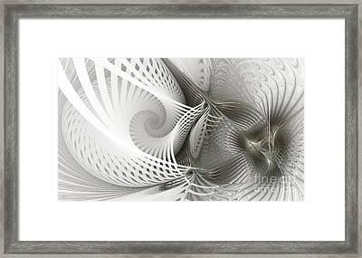 Extensions Framed Print by Karin Kuhlmann