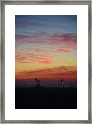 Extraction Framed Print by Aaron S Bedell