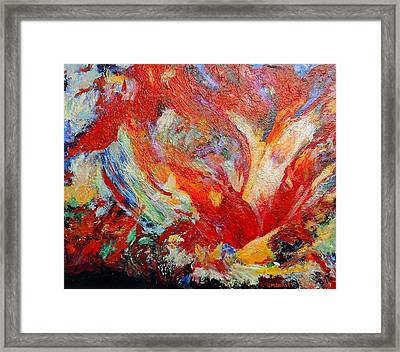 Exuberance Framed Print by Michael Durst