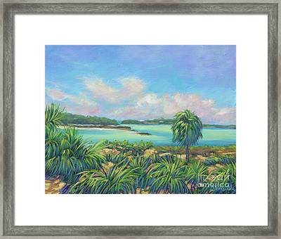 Exumas Escape Framed Print by Danielle Perry