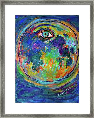 Eye Crater Stage One Framed Print by Kendall Kessler