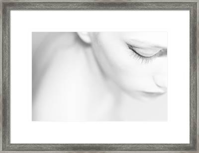 Eye Framed Print by Lourens Huizinga