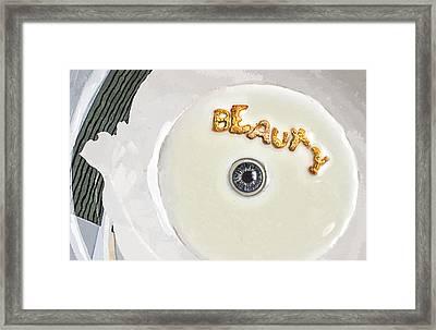 Eye Of The Beholder Framed Print by Rick Mosher