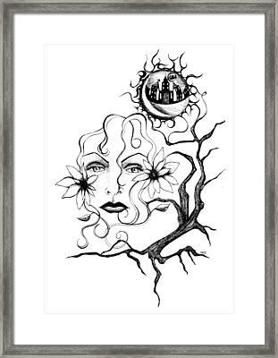 Eye Of The Beholder Framed Print by Shawna Rowe