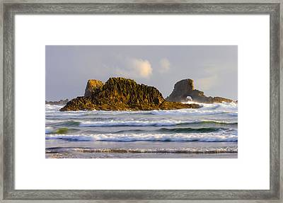 Eye Of The Storm Framed Print by Mike  Dawson