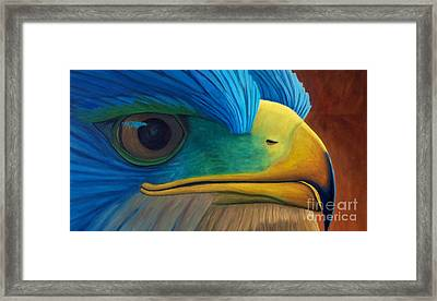 Eye On The Prize Framed Print by Brian  Commerford