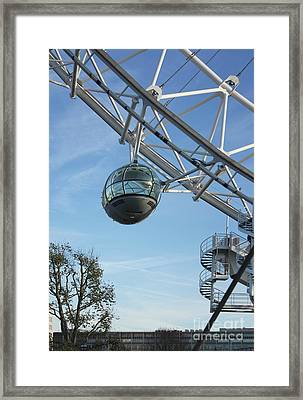 Eye Pod London Framed Print by Terri Waters