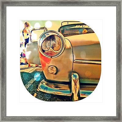 Eye Spy Framed Print by Joyce Kerr