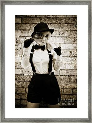Eye Spy Framed Print by Jorgo Photography - Wall Art Gallery