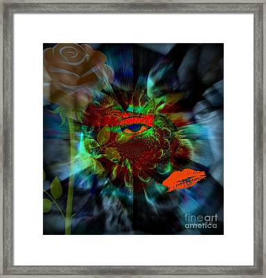 Eyes Of Nigeria - Ini Framed Print by Fania Simon