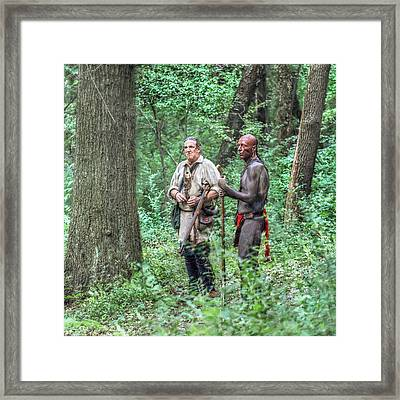 Eyes Of The Army Framed Print by Randy Steele