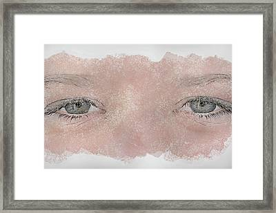 Eyes Of Youth Framed Print by Randy Steele