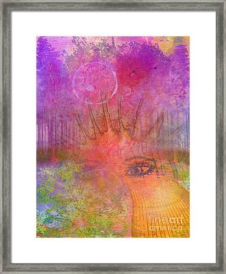 Eyes To The Soul Framed Print by Desiree Paquette