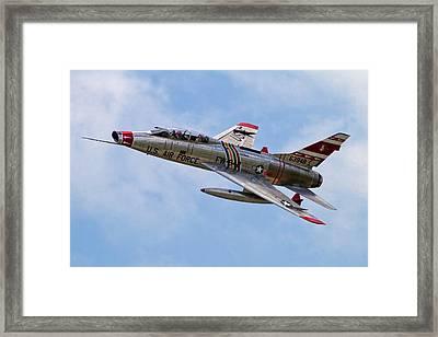 F-100 Framed Print by Bill Lindsay