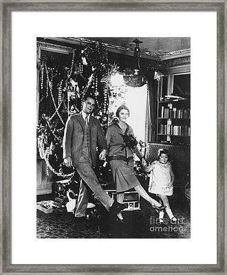 F. Scott Fitzgerald Family Framed Print by Granger