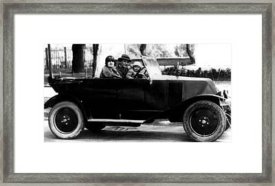F. Scott Fitzgerald, His Wife Zelda Framed Print by Everett
