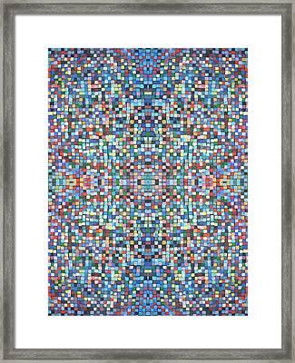 Fabulous Fractal Art 24 Framed Print by Catherine Rose Chiara