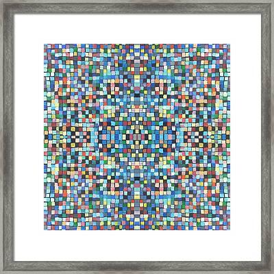 Fabulous Fractal Art 30 Framed Print by Catherine Rose Chiara