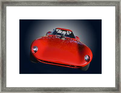 Face Of Cheetah Framed Print by Bill Dutting