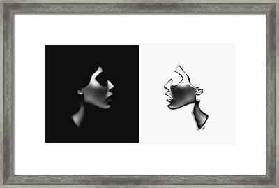 Faceless Framed Print by Steve K