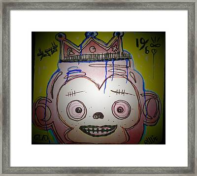 Fade Into Glad Framed Print by Robert Wolverton Jr