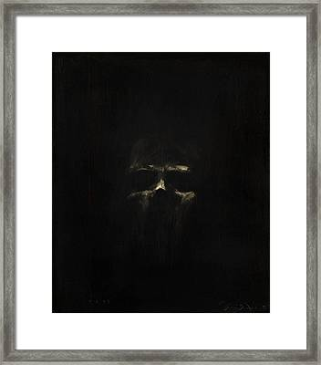 Fade To Black Framed Print by Greg Brauch