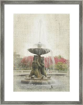 Faded Floral 10 Framed Print by Michael Peychich