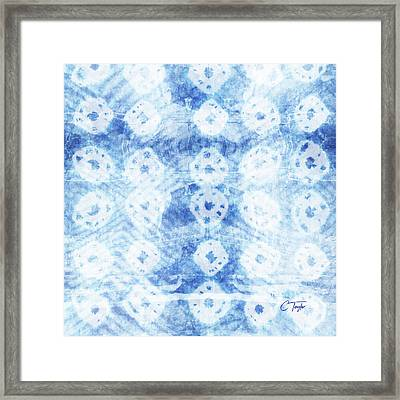 Faded Indigo Framed Print by Colleen Taylor