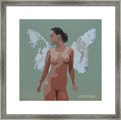 Faerie Framed Print by Donald Amorosa