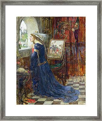 Fair Rosamund Framed Print by John William Waterhouse