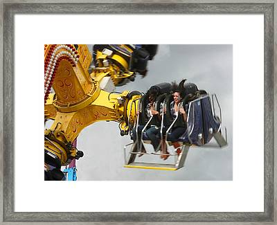 Fair Shake Framed Print by Barbara  White