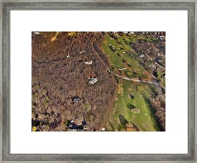 Fairmount And St. Martins Chestnut Hill Framed Print by Duncan Pearson