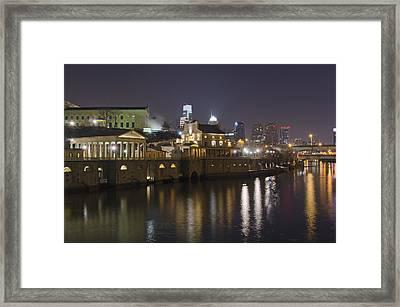 Fairmount Water Works - Philadelphia  Framed Print by Brendan Reals