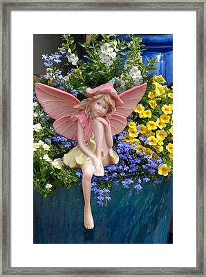 Fairy 86 Framed Print by Joyce StJames