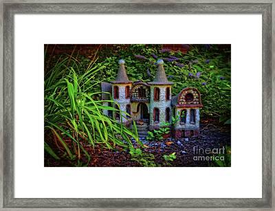 Fairy Castle Framed Print by Mary Machare
