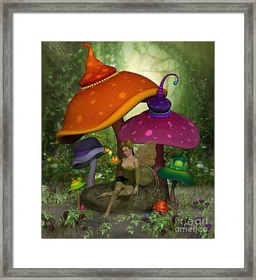 Fairy Daina Framed Print by Corey Ford