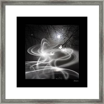 Fairy Fog Framed Print by Maggie  Smith